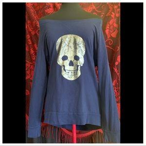 Blue 💀Sweat Shirt